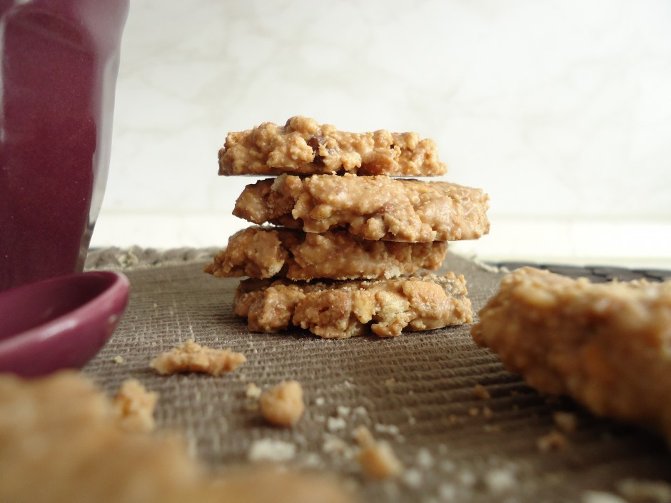 Palets croquants aux petits beurre pralin et chocolat for Beurre en special cette semaine