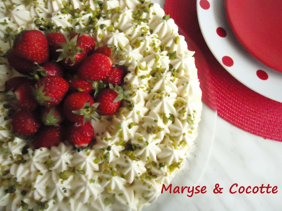 Gâteau Diplomate aux Fraises