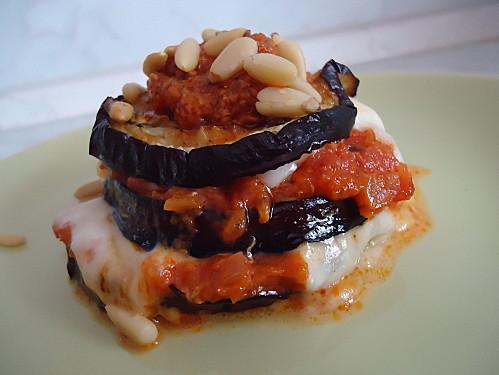 Mille Feuilles D Aubergine Et Mozzarella Maryse Cocotte