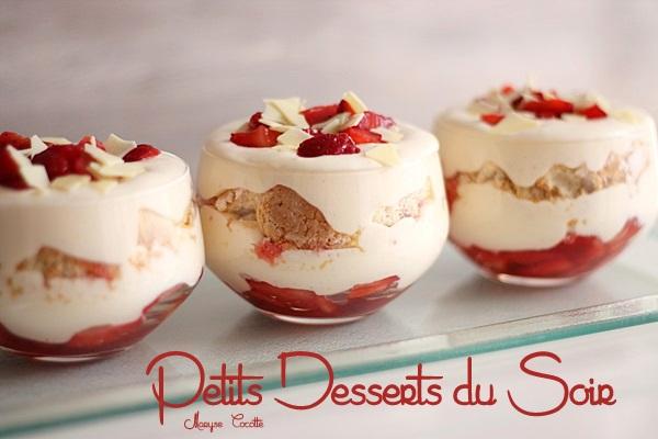 recette tiramisu aux fraises en verrine