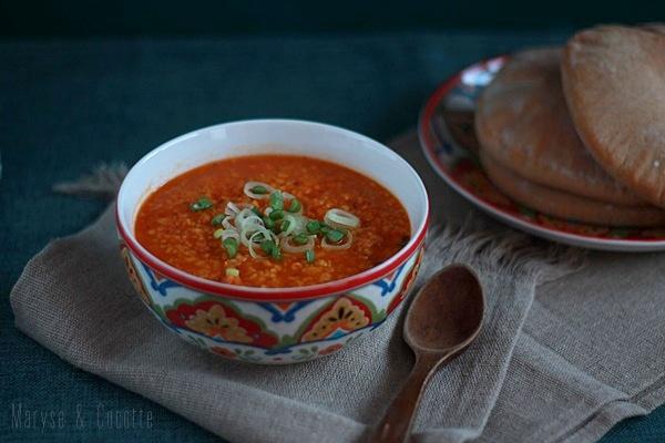 Soupe Au Boulgour Lentilles Corail Maryse Cocotte