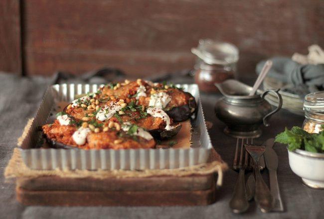aubergines farcies au quinoa (2)