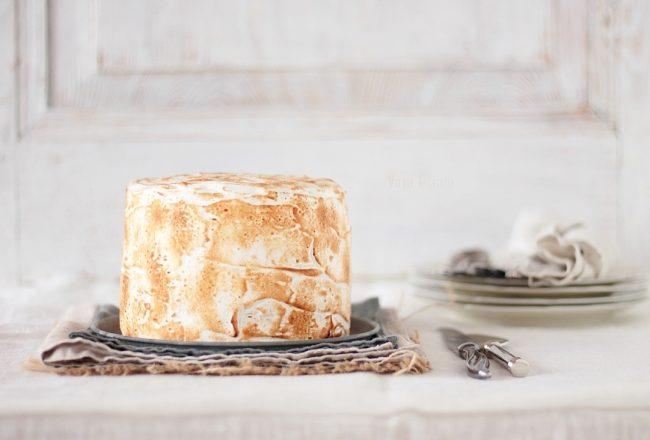 layer cake meringué