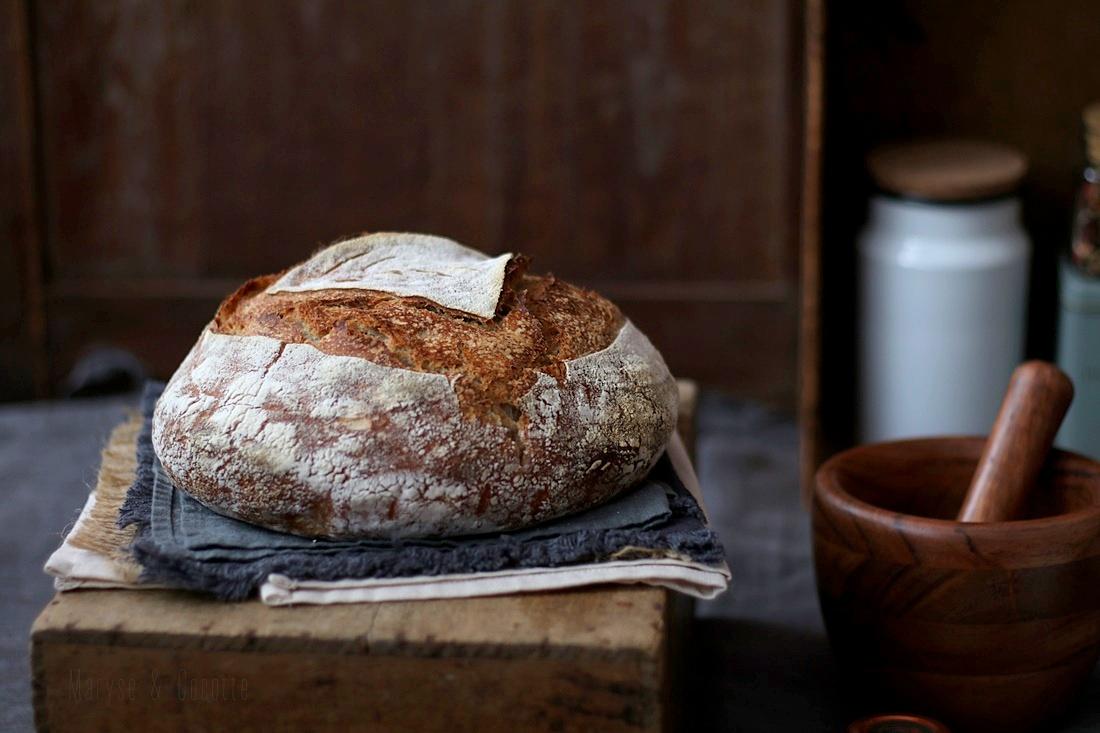 pain au levain et son de blé (5)