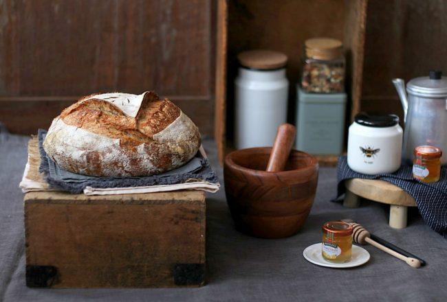 pain au levain & son de blé