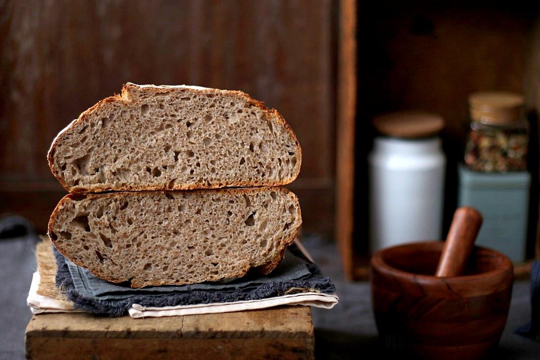 pain au levain et son de blé (9)