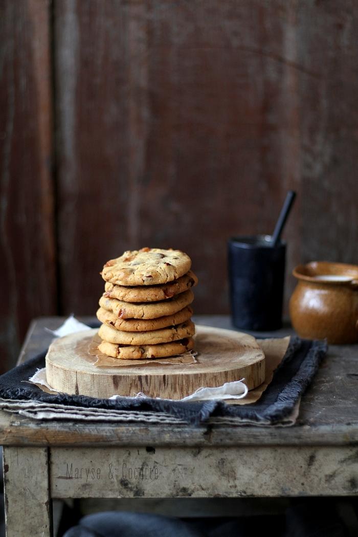 cookies pécan caramel (7)