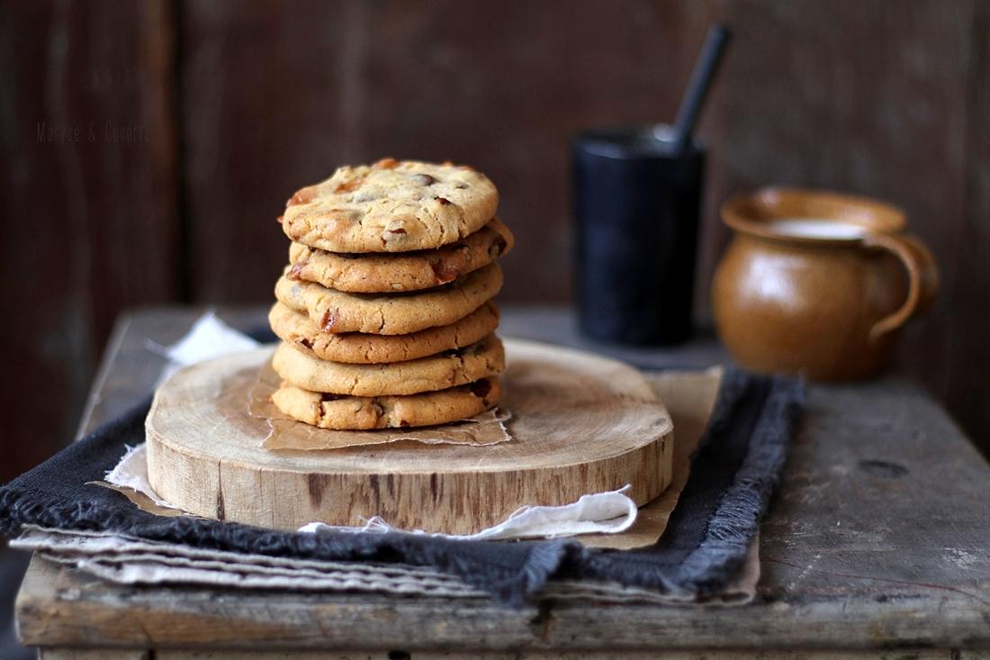 cookies pécan caramel (8)